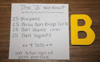 The B Workout